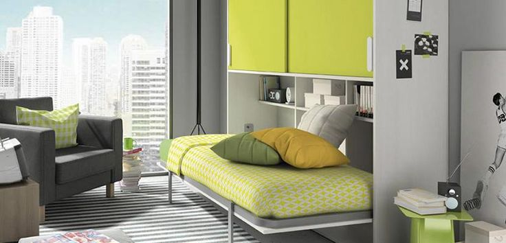 Contemporary folding bed