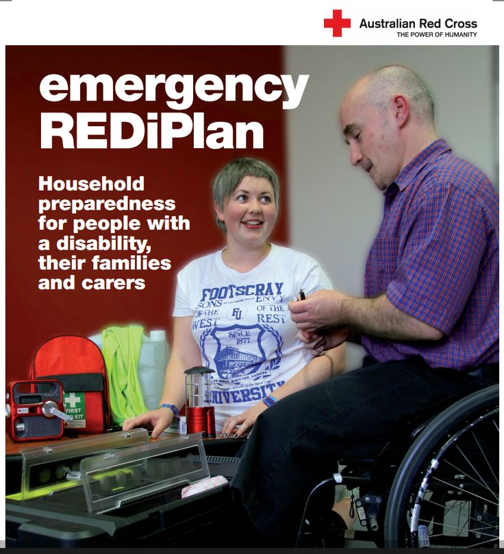 Emergency preparedness for people with a disability, their families and carers | Australian Red Cross