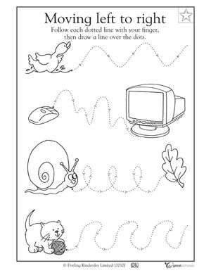 5 great writing worksheets kinder tracing a path greatschools - Activity Worksheets For Toddlers