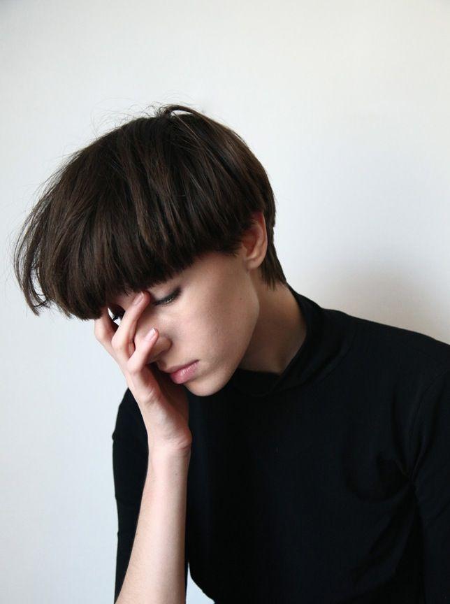 woman mushroom cut - Google Search