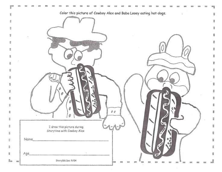 Find This Pin And More On Storytime Coloring Pictures By Cowboy ALEX