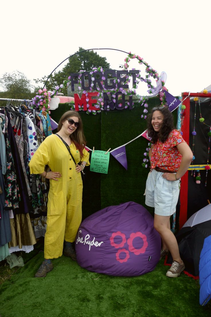 Printed bean bags for Sue Ryder at Glastonbury 2014.