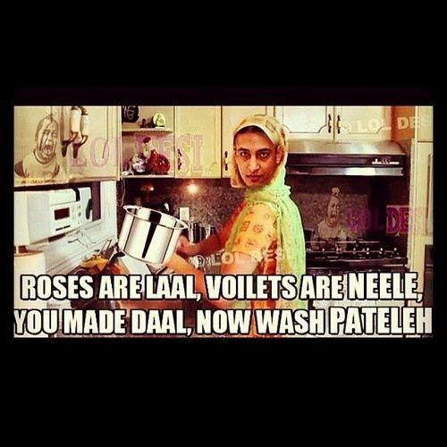 .But daal is not made in http://pateeleh..it is made in kukkar ! Huh inna vi nahi pta enu #desi #asian #www.asianlol.com