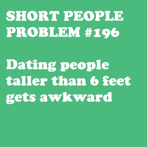 Advantages of dating short guys