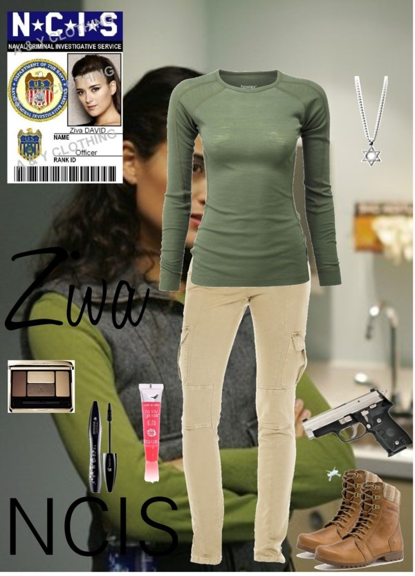 """NCIS Ziva"" by sing4themoment2406 on Polyvore"