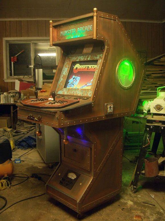 how to make a mame arcade machine