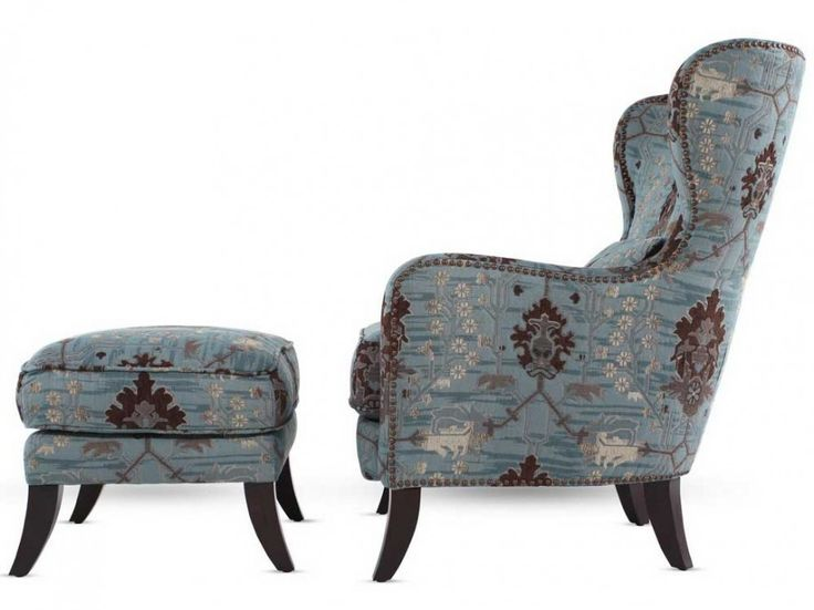 Exceptionnel Upholstery Fabric For Vintage Wingback Chair : Elegant Upholstery Fabric  For Wingback Chair