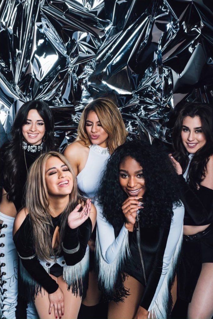 Fifth Harmony backstage at Jingle Ball