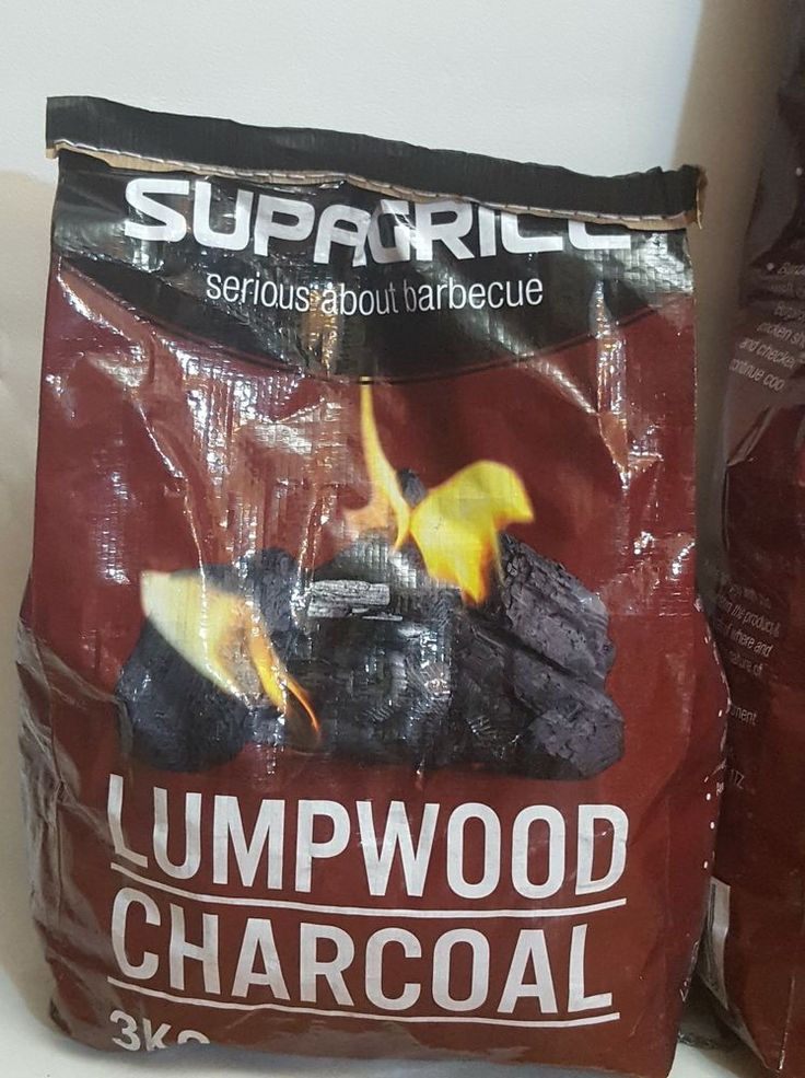 3KG BBQ LUMPWOOD CHARCOAL BAG GRILL COOK JERK BARBECUE FIRE PIT FUEL