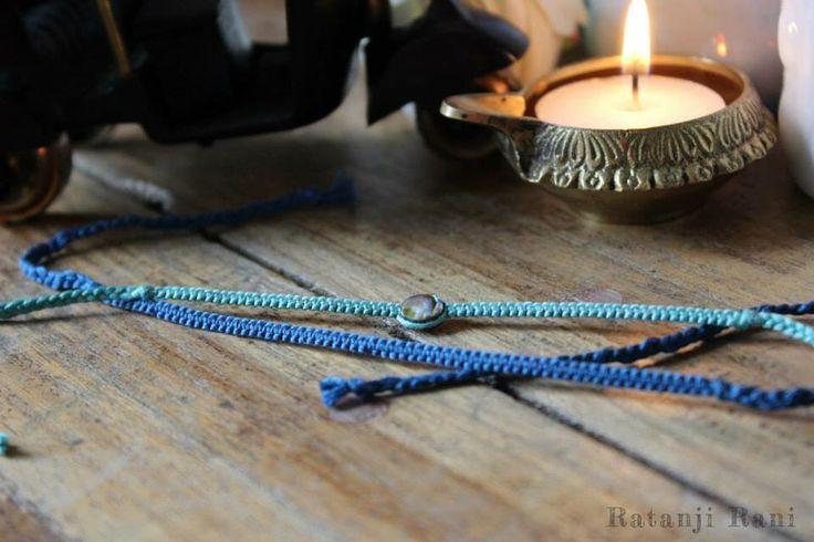 Handmade rakhis for raksha bandhan. Using traditional macrame knotting, these rakhis are perfect for your brother