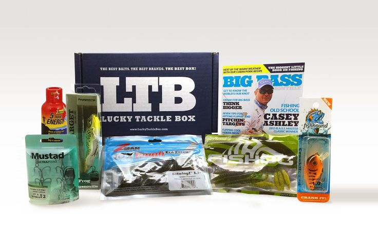 11 best trout lucky tackle box images on pinterest for Monthly fishing subscription boxes