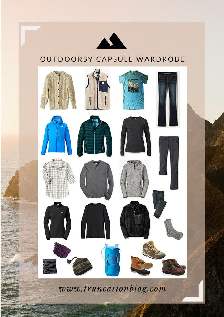Truncation - Fall 2015 Outdoorsy Capsule Wardrobe - Truncation