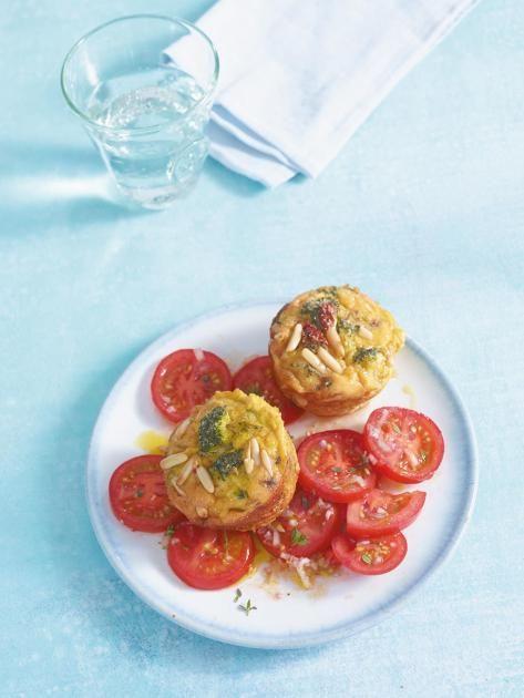 Gemüse-Muffins Rezept - [ESSEN UND TRINKEN]
