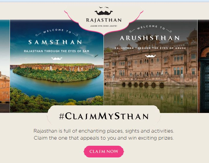 claim my sthan contest ,chance to win 2day stay in rajasthan and other exiting prize  http://www.contestnews.in/claim-sthan-contest-chance-win-stay-rajasthan/