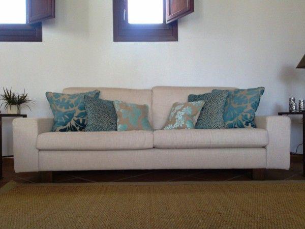 M s de 25 ideas incre bles sobre cojines para sofas en - Tapizar cojines sofa ...