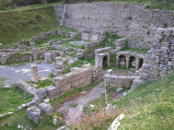 Ancient Gortys - Asklepieion  Arkadia Greece
