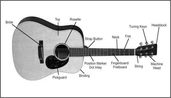 Guitar Diagram Music Dance Pinterest Guitars Musical