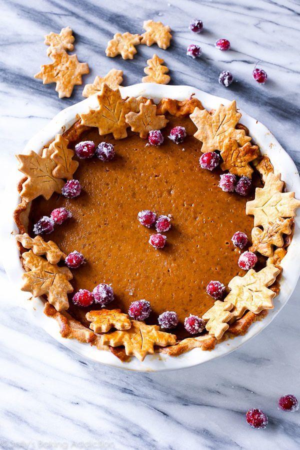 Pumpkin Leaf Pie via Country Living