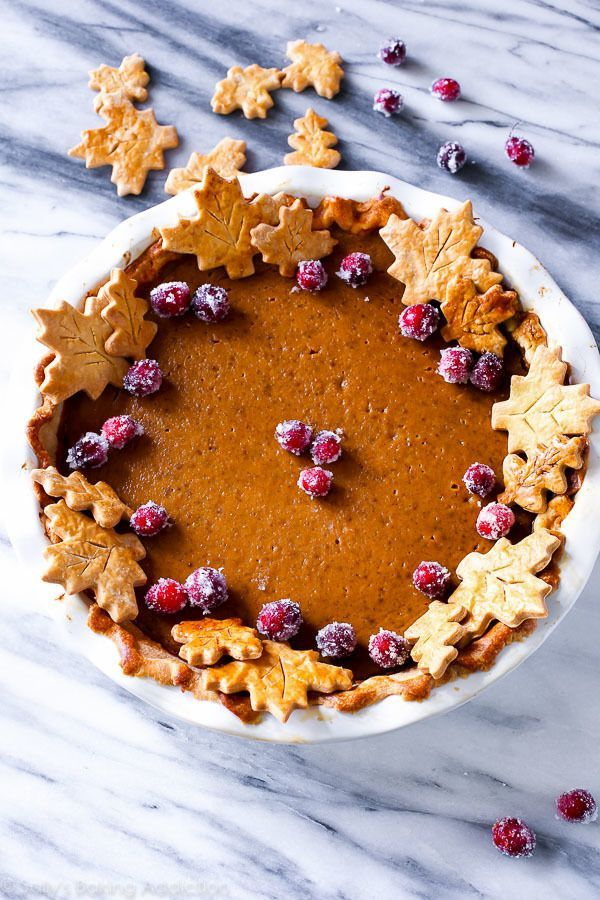 Bursting with flavor, this pumpkin pie recipe is my very favorite. It's rich…