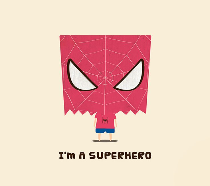 I'm a #superhero - #cute #spiderman Android wallpaper ...