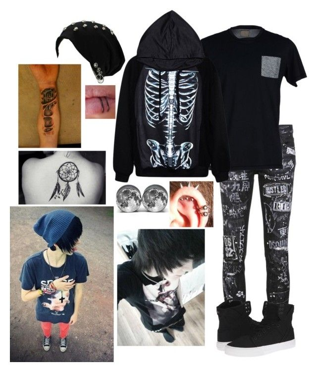 I'm Ash and I'm 17.. I need a girlfriend by katiex3636 on Polyvore featuring polyvore and art