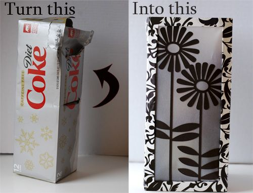 115 best cardboard recycling ideas images on pinterest for Recycled paper lantern
