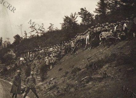 Varie guerra mondiale. Trincee di II linea. Museo centrale del Risorgimento