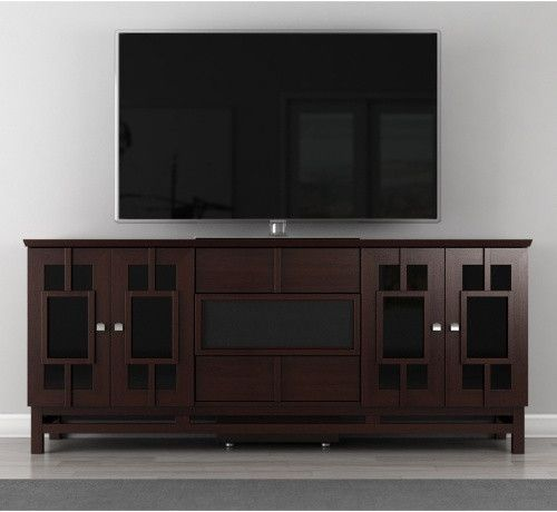 The Furnitech Contemporary Asian 70 Inch TV Stand offers a modern look and convenient storage all in one great unit. Description from hayneedle.com. I searched for this on bing.com/images