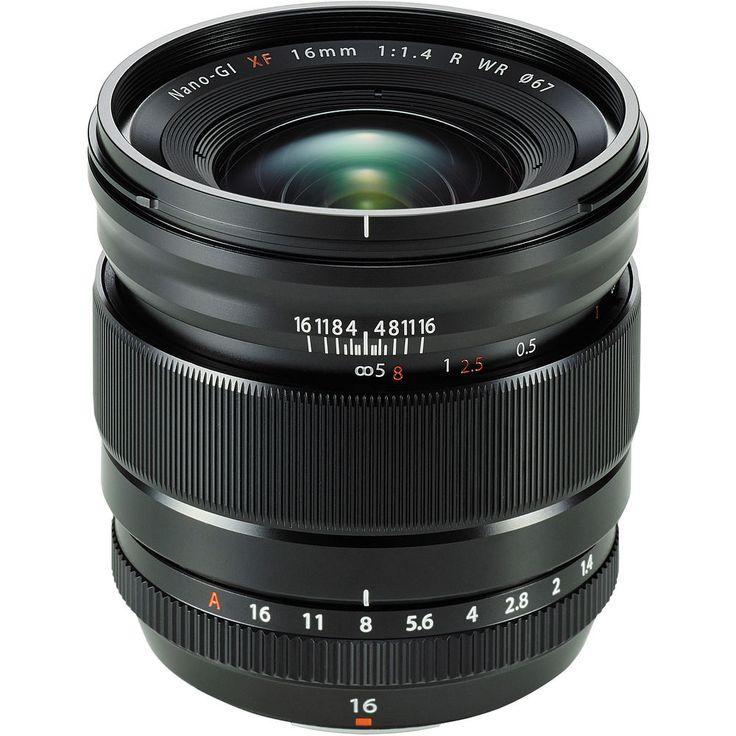 Image of Fujifilm FUJINON XF 16mm f/1.4 R WR Lens Fujifilm X-mount