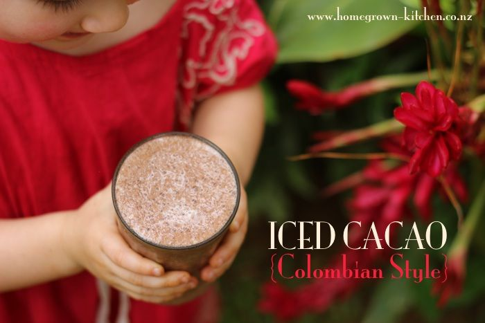 Iced Cacao Colombia / Homegrown Kitchen