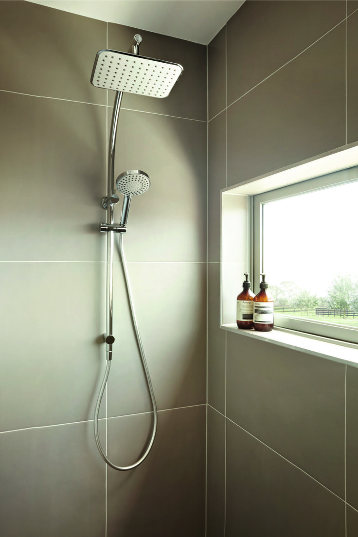 Warm showers on cold days - perfection with the Phoenix Rush Twin Shower.