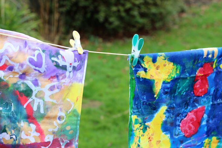 Fun and Easy Fabric Batik Art Craft for Kids