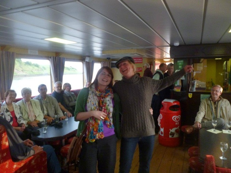 On board The Donegal Bay Waterbus