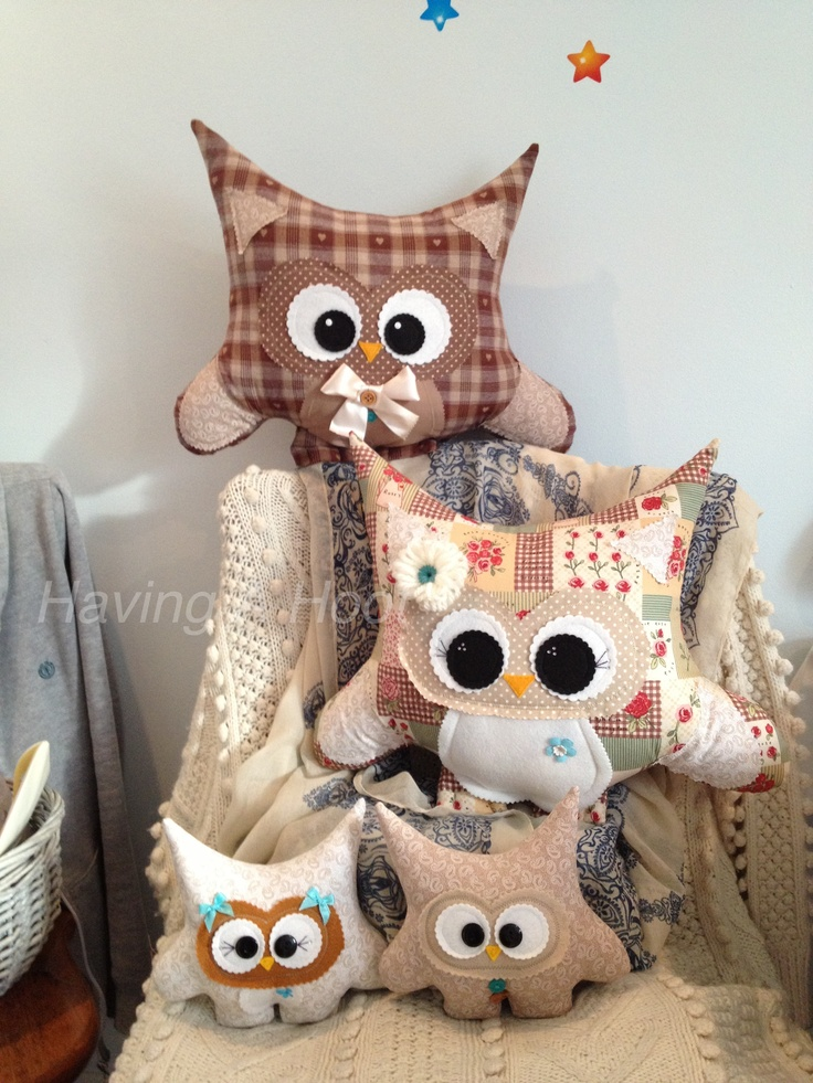 New little Family of My Hoots ready to go home