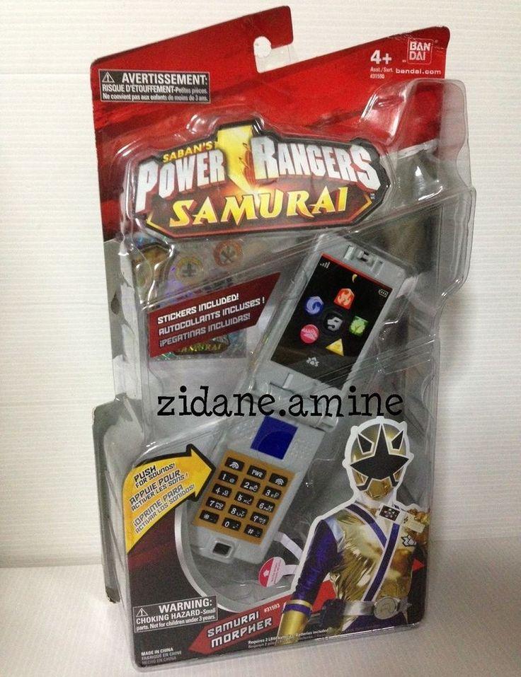 Power Rangers Samurai Samuraizer Morpher Phone Sounds ...