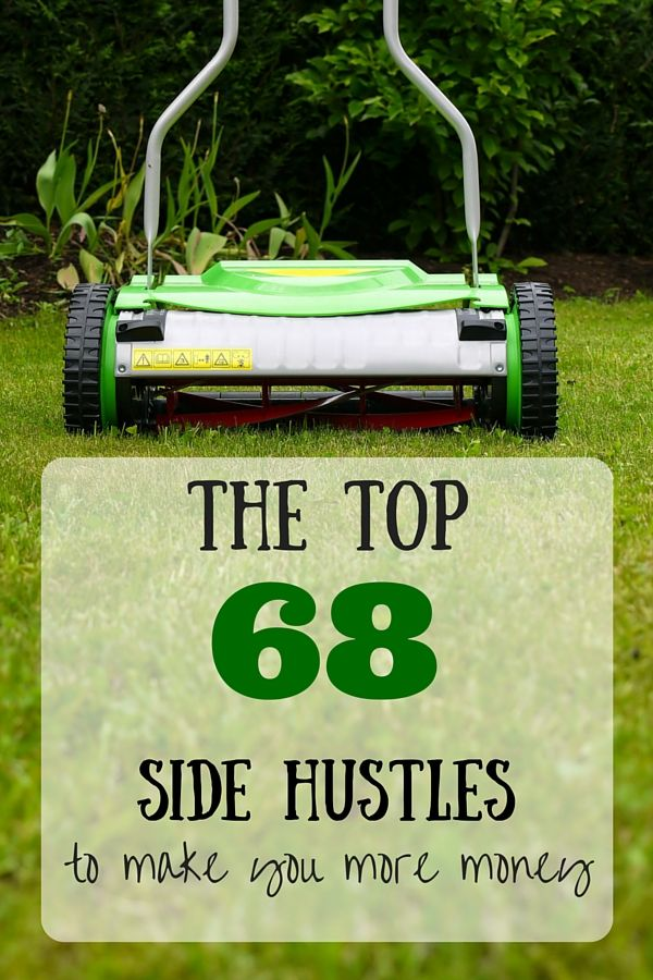 It's time to get your side hustle on