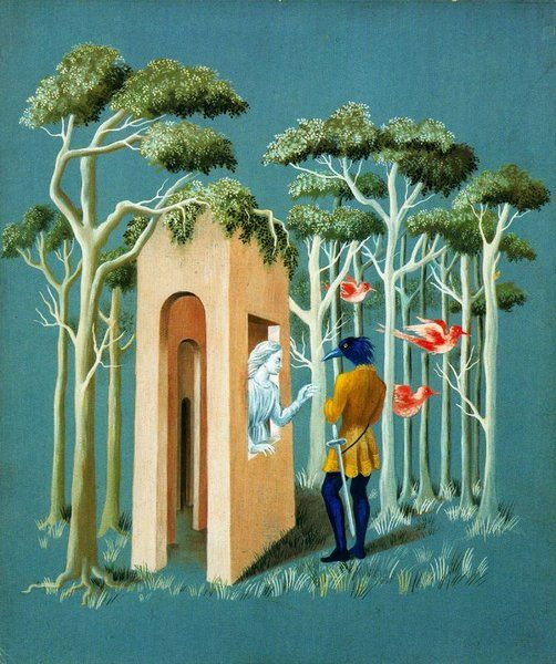 Garden of Love - Remedios Varo (1908-1963, Spain)