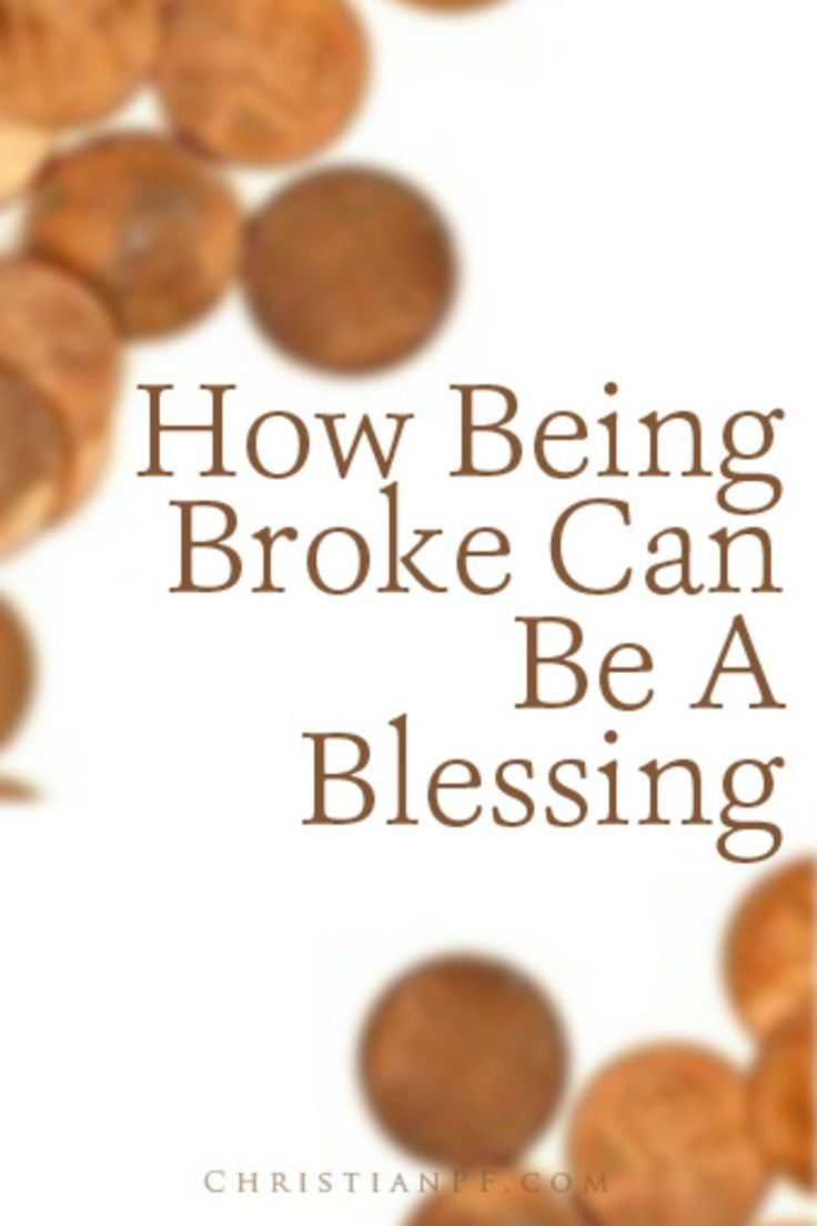 http://christianpf.com/broke-blessing/  People matter more than money~remember that when climbing the ladder to success.