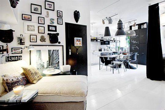 Jimmy Schönning's Small & Stylish Swedish Apartment