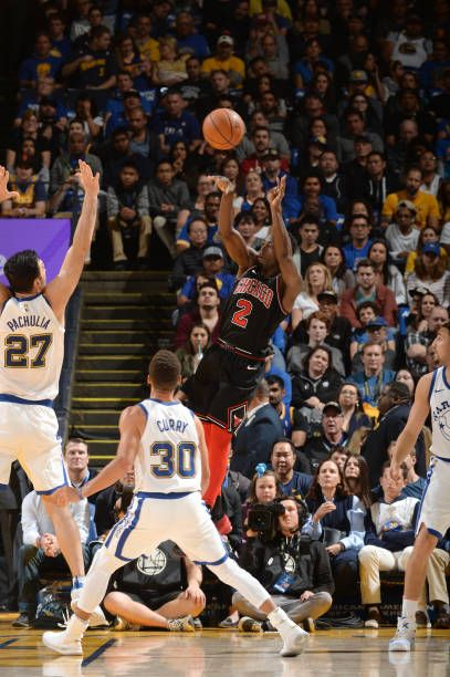 Jerian Grant of the Chicago Bulls passes the ball against the Golden State Warriors on November 24 2017 at ORACLE Arena in Oakland California NOTE TO...