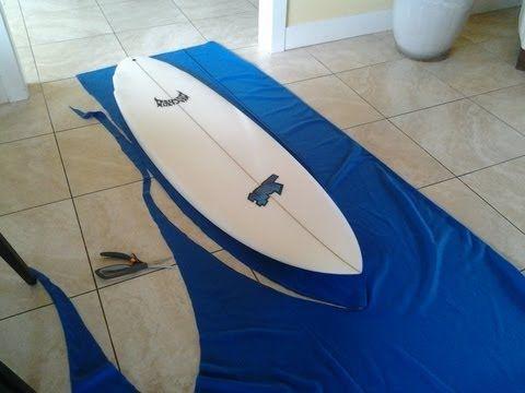 ▶ DIY surfboard bag - YouTube