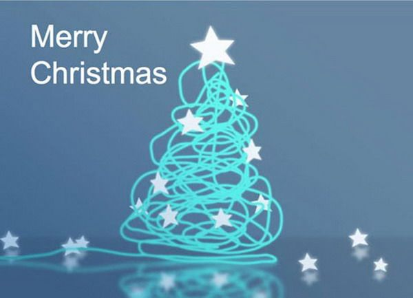 Corporate-Style Christmas Card - Free Printable Christmas Cards, http://hative.com/free-printable-christmas-cards/,