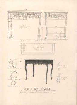 An exemplar of antique furniture design : a collection of measured drawings of furniture in the Metropolitan Museum of Art accompanied with photographs and text / by Edgar & Verna Cook Salomonsky :: Metropolitan Museum of Art Publications