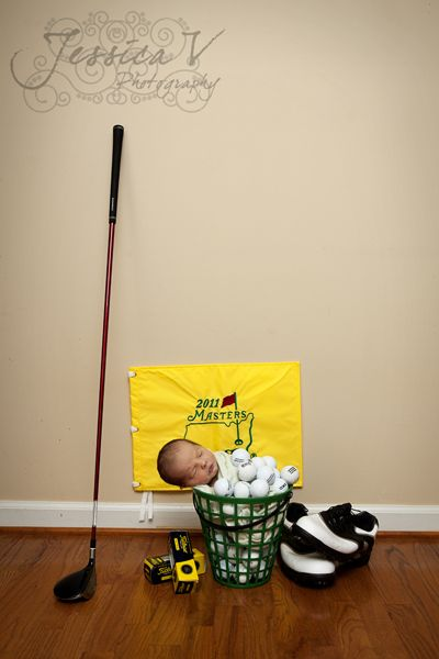 Baby Golf Picture Ideas