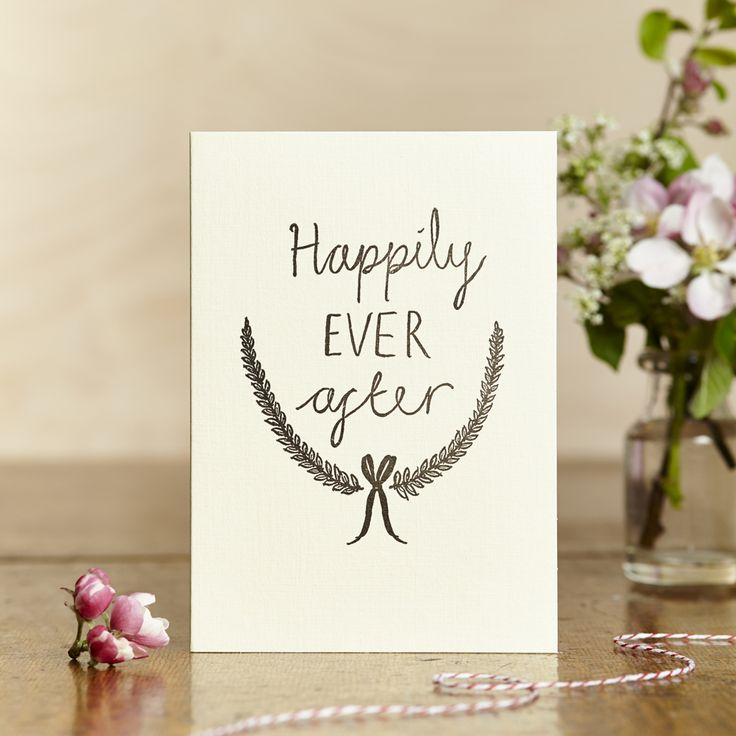 Of course we all end up Happily ever after. Wedding stationery. www.bedeliciousbridal.com