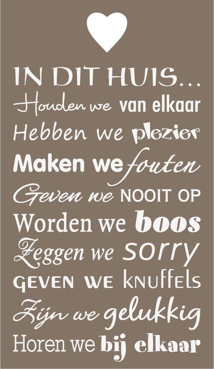 Bekijk de foto van madebywilly met als titel Mooie tekst voor op een houten bord, muur of raam.  Tekst is  geplakt op een bord met een hartje.  Tip!! verf een bord aan 2 kanten en plak aan de andere kant een andere leuke tekst.  Tekst is afkomstig van Mooi muurdesign. en andere inspirerende plaatjes op Welke.nl.