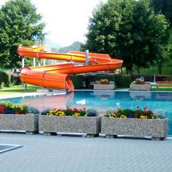 Wasserrutschbahn  Abersee