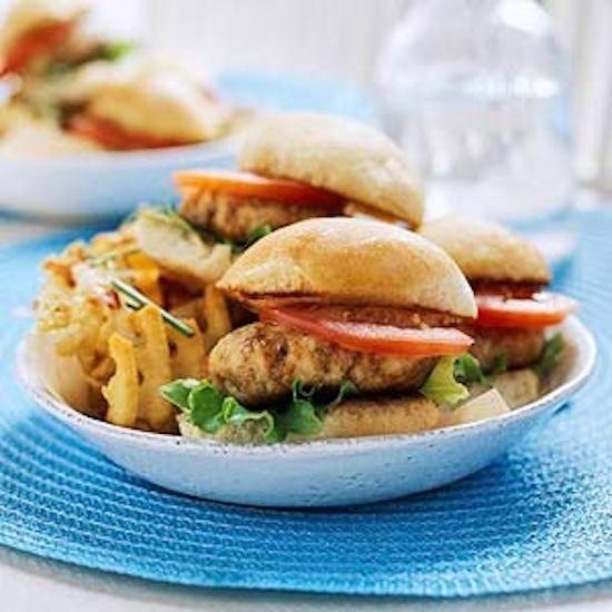 BBQ Chicken Burgers | Sandwiches & Wraps | Pinterest
