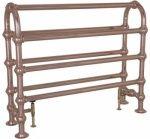 Colossus Horse 935x1125 Towel Rail - Chrome, Nickel & Copper