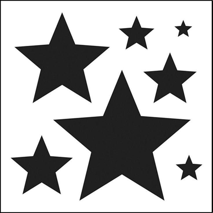 Best  Star Stencil Ideas On   Star Template Star